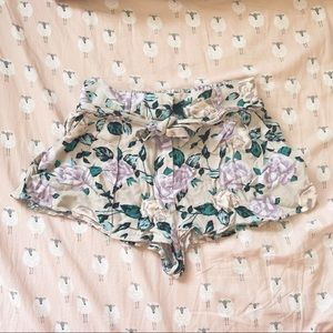 Talula Floral Shorts